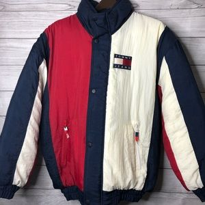 Tommy Hilifiger Puffer Jacket Bootleg